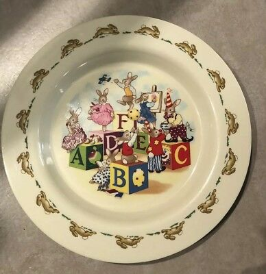 Collectable Melamine Bunnykins Plate