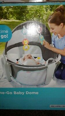 Fisher-Price On-the-Go Baby Dome Windmill Indoor/Outdoor Play Space Mat
