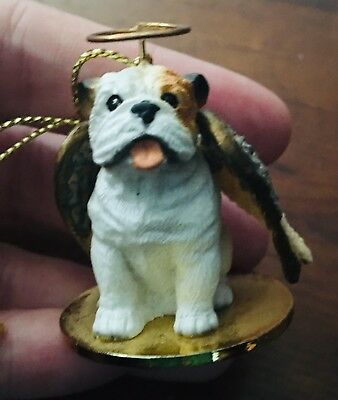 Tiny Ones Bulldog Angel Christmas Ornament by Conversation Concepts Dog Lover