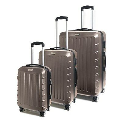 3pc Luggage Suitcase ABS Expand Trolley Carry On Bag Hard Case Lightweight Set
