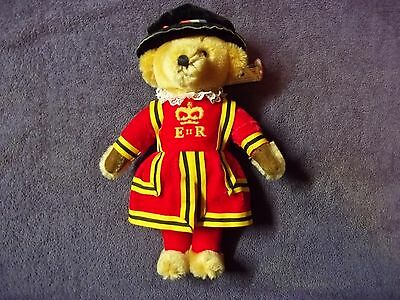 Merrythought Royal Guard Beefeater Bear With Tags - Made in England