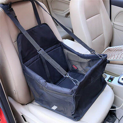 Folding  Pet Carrier Dog Cat Car Booster Seat Portable Soft Cage Travel Bag