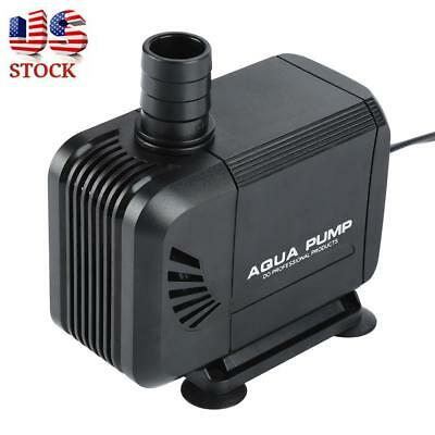 800 GPH Submersible Water Circulation Pump Aquarium Pond Hydroponics Fountain US