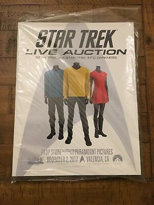 Prop Store Star Trek Live Auction Catalog December 2018