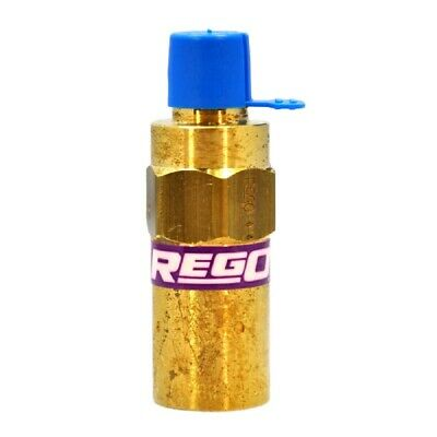 """REGO 1/4"""" Relief Valve for Gas and Cryogenic Systems, 275 PSI - Brass Material"""