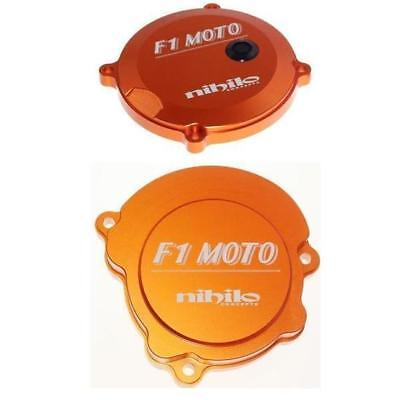Nihilo Ignition Cover and Clutch Cover Kit for KTM50 SX 2013 - 2018