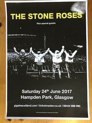 The Stone Roses, Poster, Indie, Scotland, Stone Roses, Primal Scream