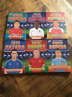 Football Books X6 -