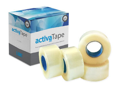 Extra Strong Aggressive Big Tape Parcel Packing Tape 48Mm X150M Brown /clear