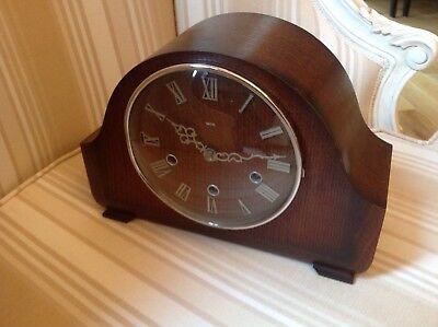 Vintage 'Smiths' 8-Day Mantel Clock with Westminster Chimes