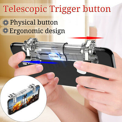 Metal Mobile Game Gamepad Trigger L1R1 Smartphone Shooter Controller for PUBG