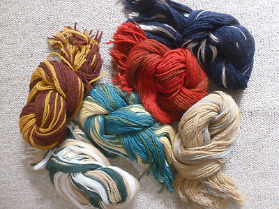 Ehrman Tapestry Wool 6 Bundles 14 Different Colours New Unused.