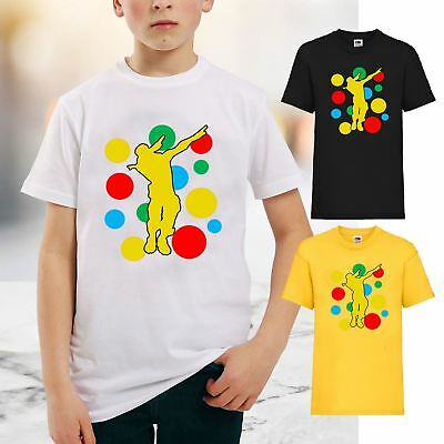 29b2a0276e2f New Kids Boys Girls Dab Spotty T-Shirt Children In Need Day Dabbing School  Tee