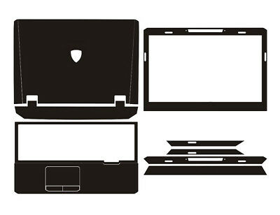 Laptop Sticker Protector Carbon fiber Cover Skin for ASUS G55 G55VW 15.6-inch
