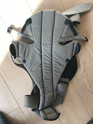 Baby Bjorn Baby carrier, organic and fleece cover