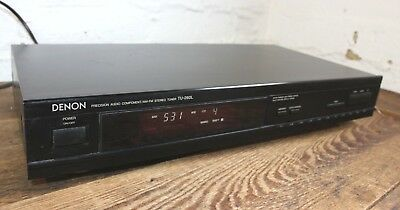 DENON TU-260L FM AM Precision Audio Radio Tuner Vintage Hi Fi Separate  Germany