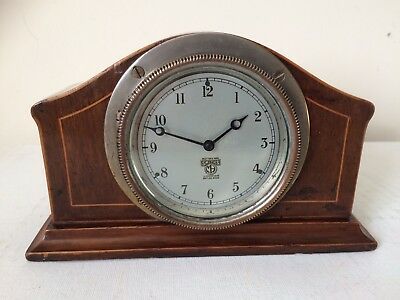 Vintage Smiths MA mounted 8 Day car clock Working Order