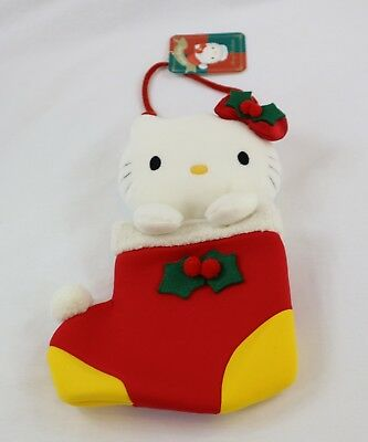 HELLO KITTY STOCKING ORNAMENT | CHRISTMAS TREE DECORATION | Free shipping