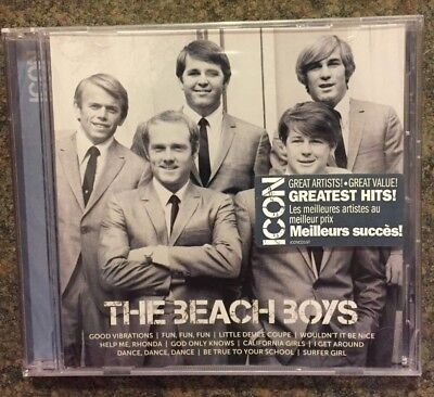 ** Icon -  The Beach Boys Greatest Hits, CD, brand new, factory sealed!