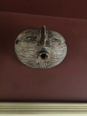 Old Rare African tribal Female Songye Mask (Congo, DRC)