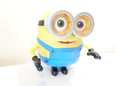 """MINIONS - 7"""" BOB MINION INTERACTIVE TALKING TOY FIGURE by THINKWAY TOYS"""