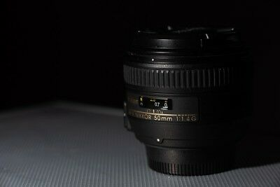 Nikon Nikkor 50mm 1.4g Prime lens AF-S - Excellent Condition