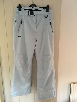 Womens Blue ski trousers, Trespass, size 14, matching jacket available