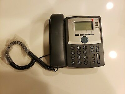 Cisco SPA303 - 3 Line IP Phone with DISPLAY AND PC PORT NO Base & Power Adapter