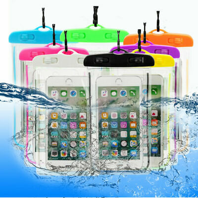 Underwater Waterproof Case Dry Bags Pouch For Mobile Phone iPhone 7 8 9 Plus Xs