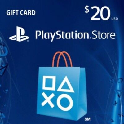 Sony PlayStation Network 20$ Card