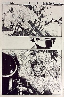 Chris Bachalo Wolverine and the X-Men 2 Original Comic Art
