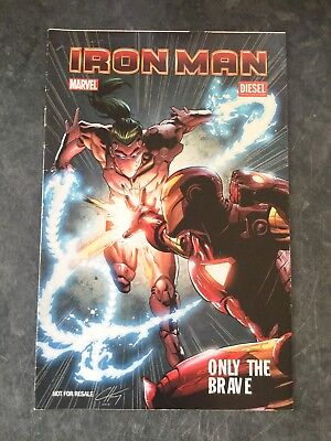 Ironman Only The Brave , Rare Diesel Promo Comic