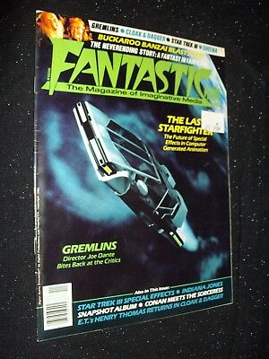 Fantastic Films Magazine #42:november 1984:gremlins/indiana Jones/star Trek:rare