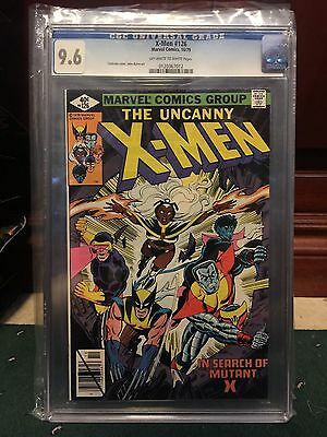 X-Men #126 Cgc 9.6 Nm+ ~ Cockrum Cover & Byrne Art ~ Search For Mutant X