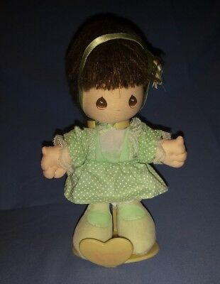 Vintage 1989 Applause Inc Precious Moments Doll and Stand Im Surrounded By Joy