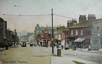 Drake Street Rochdale Lancashire Early Pc
