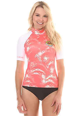 BILLABONG SURF CAPSULE GIRL SS Lycra 2017 coral shine