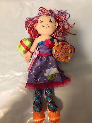 Groovy Girls Doll Birthday Wishes Betsy Plush Cloth Doll New With Tag