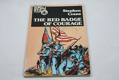 The Red Badge Of Courage By Stephen Crane 1973 Pendulum Press Illustrated