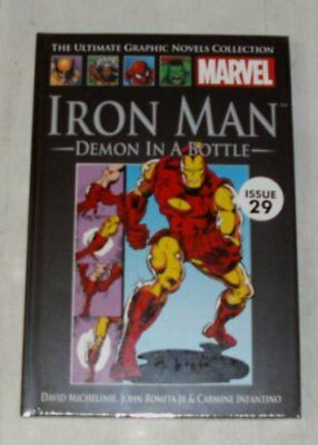 The ultimate graphic novels collection iron man demon in a bottle