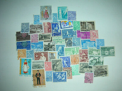 Finland stamps over 200 different