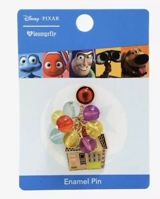 Disney Pixar Up Carl & Ellie Balloons House Enamel Pin BoxLunch Exclusive NWT!