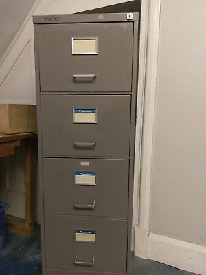 4 Drawer Metal Filing Cabinet by Roneo Vickers