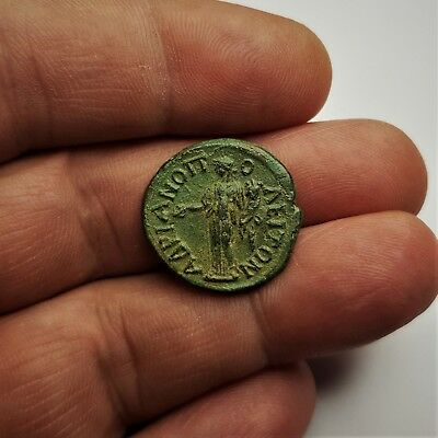 Ancient Faustina II AE 21 of Hadrianopolis, Thrace.