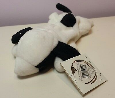 2d655b9c9bc NWT SPOT the White Dog Ty Beanie Baby 3rd generation tush new with tag