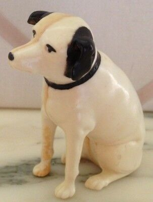 Vintage Full Figured Fox Terrier Dog Nipper - His Master's Voice On Victrola!