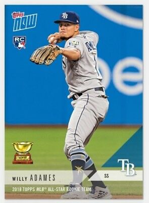 Willy Adames 2018 Topps Mlb All-Star Rookie Team Mlb Topps Now Card