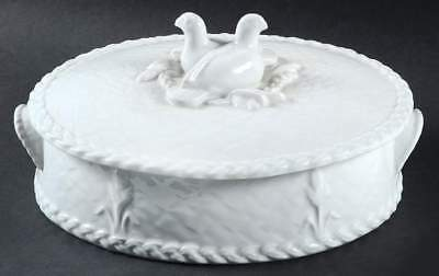 ❀ڿڰۣ❀ ROYAL WORCESTER Fine Oven China GOURMET OVEN BIRDS Oval CASSEROLE DISH ❀