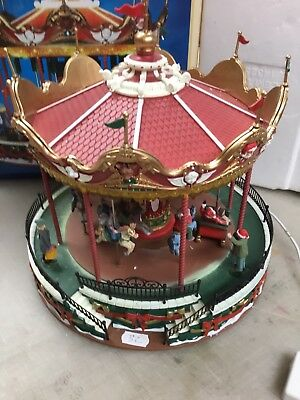 Lemax Santa Carousel Not Working 34682