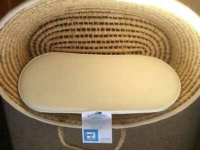 Moses Basket With Brand New Mothercare Mattress